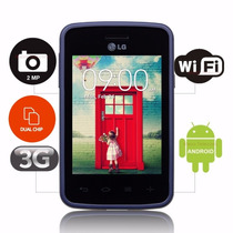 Smartphone Lg L30 Sporty Dual Chip 3g Câm 2mp Tela 3.2 Vivo
