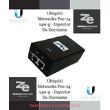 Inyector Corriente Networks Poe 24-24w Ubiquiti