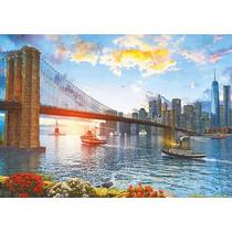 Puzzle Educa X 4000 Puente De Brooklyn Art 16782