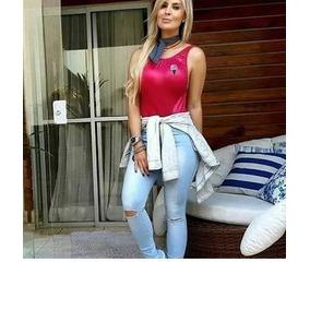 2098dd0d5f0 Calça Feminina Social Cos Alto Calcas - Calças Feminino Azul claro ...