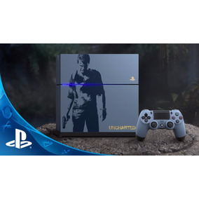 Playstation 4 Ps4 500gb Con Uncharted 4 Slim Promo