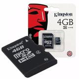 Tarjeta Memoria Micro Sd Hc 4gb Clase 4 Flores Caballito