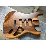 Corpo Guitarra Modelo Strato Em Gonçalo Alves