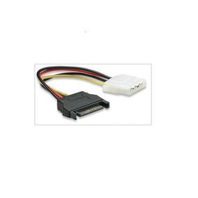 Cable Energia 4 Pin Molex (macho) A 15 Pin Sata Hm4