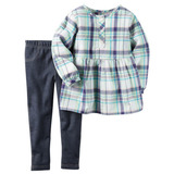 Carters Blusa+calza 18m