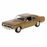 Auto Maisto 1:24 1970 Chevrolet Nova Ss Pc