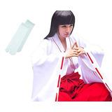 Trajes De Kimono Japonés Inuyasha Kikyo Cosplay (m) Santuar