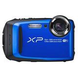 Fujifilm Finepix Xp90 Cámara Digital A Prueba De Agua Azul
