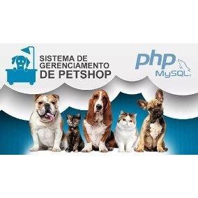 Sistema Gestão Pet Shop Profissional - Script Php