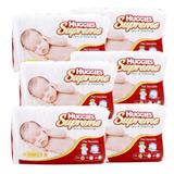 Caja Huggies Supreme P&n E1 6 Paquetes (228 Pañales)