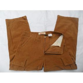 Pantalon De Pana Timberland Cargo Talla 31