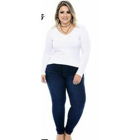 Jeans De Dama Corte Alto Tallas Plus 18 20 22