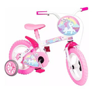 Bicicleta Infantil Aro 12 Magic Rainbow Unicornio - Styll
