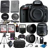 Nikon D530024.2mp Cmos Digital Slr Camera (negro)