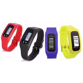 Reloj Podometro Lcd Contador Pasos Distancia-calorías X 6