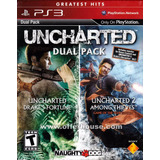 Uncharted Ps3 Digital Dual Pack 1 Y 2 | Sasito