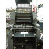 Impresora Offset Heidelberg Gto 52