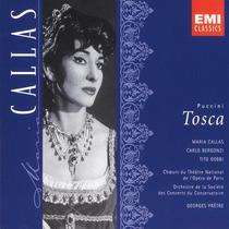 Puccini - Tosca - Callas & Bergonzi - Edición 2 Cds