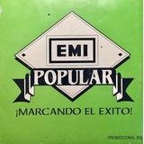 Cd Emi Popular Mazz Y Grupo Latino Promo Usado