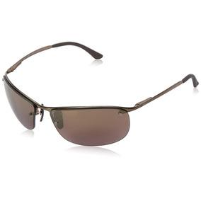 Óculos Ray-ban Rb3542 Chromance Lens Wrap - 269953 ef17937b4a