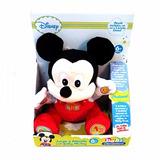 Mickey Mouse Baby Peluche 30 Cm Juega Y Aprende Electrónico