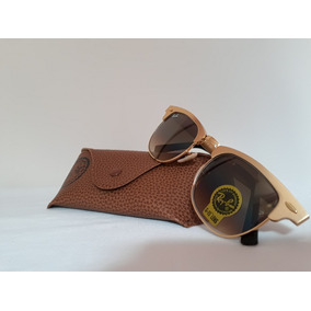 50425ae260e76 Ray Ban Clubmaster Aluminium Bronze - Óculos no Mercado Livre Brasil