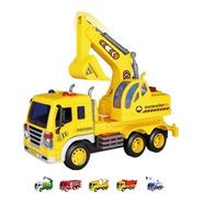 Juguete Camion Bombero Construccion Arenero 25cm Luz Sonido