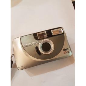Camêra Fotografica Samsung Fino 15 Se Perfeita Com Capa
