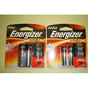 Pilas Alcalinas Energizer Doble Aa Y Triple Aaa Blisterx2