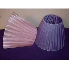 Pantallas De Organza De 10x15 Para Veladores Apliques