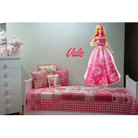 Vinilo Pared Barbie Infantiles Wall Stickers