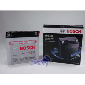 Bateria De Moto Bosch Yamaha Ybr 125 Es/ed/k 2000 Até 2008