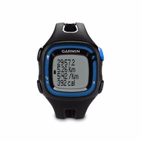 Relógio Gps Garmin Forerunner 15 Monitor Cardiaco Azul/preto