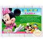 Kit Imprimible Minnie Y Amigos La Casa De Mickey Mouse Candy