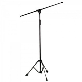 Pedestal P/ 2 Microfones Girafa Tpa Preto Ask