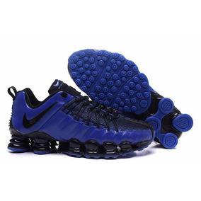 Ténis Masculino Nike Azul Nike Shox para Masculino Azul Nike no Mercado 4efd96