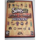 Accesorios Para Sims 2- Decora Tu Familia - Cd Original