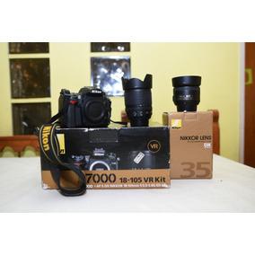Nikon D7000 + 18-105 + 35 1.8g