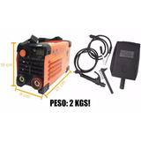 Maquina Solda Mini Inversora 225 Mma 220v Portatil Usk 2kgs