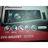 Radio Pioneer Dvh-885 Avbt 1 Din Dvd Bluetooth Pantalla 3.5