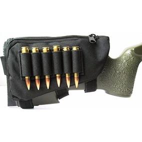 Pouch Tactico Culata Caceria Porta Municion Rifle Escopeta