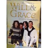 Box Original: Will & Grace - 4ª Temporada - Lacrado - 4 Dvds