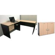 Puesto De Trabajo Platinum 501 + 524 + Biblioteca 505 Kromos