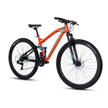 Bicicleta Mercurio Expert Dh Rodada 29 Aluminio 21 Velocidades Freno Disco