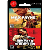 Max Payne 3 + Red Dead Redemption | Ps3