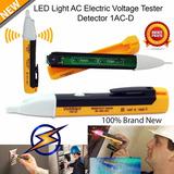 Caneta Detector Teste De Tensão Alarme Sonoro Lanterna Led