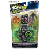 Ben 10 Ultimate Alien Vehículo De Creación Extraterrestre