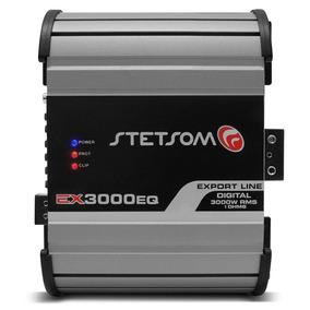 Módulo Amplificador Ex 3000 Eq Stetsom 3000w Rms 1ohms