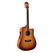 Guitarra Washburn Wd-7 Sce Tapa Solida 12 Cuotas