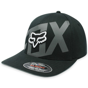 Gorra Fox Layered Flexfit ! Negro